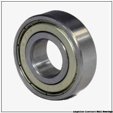 0.669 Inch | 17 Millimeter x 1.575 Inch | 40 Millimeter x 0.689 Inch | 17.5 Millimeter  GENERAL BEARING 55503  Angular Contact Ball Bearings